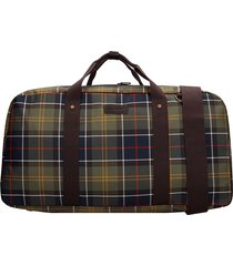 barbour torridon tote in green polyester