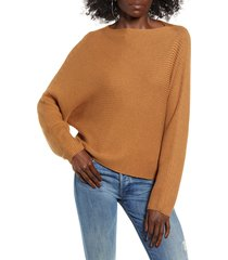women's leith dolman sleeve sweater, size x-large - brown