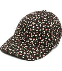 gucci x liberty floral-print baseball cap - black