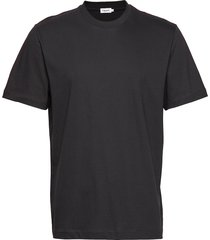 m. single jersey tee t-shirts short-sleeved svart filippa k