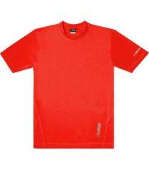 polera hombre deportiva lycra gruesa rojo h2o wear