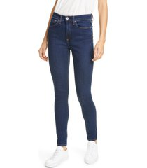 women's rag & bone nina high waist skinny jeans
