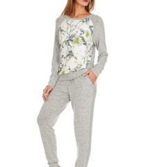 flora nikrooz collections womens johanna printed knit pajama