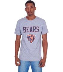 camiseta mitchell & ness estampada chicago bears cinza - cinza - masculino - dafiti