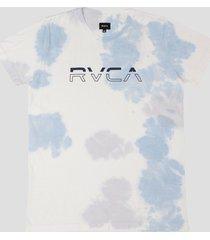 camiseta here lies rvca - azul - masculino - dafiti