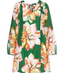 abito con chiffon (verde) - bodyflirt boutique