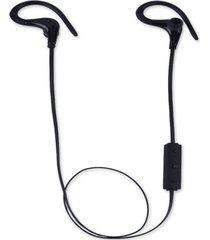 audífonos bluetooth deportivos, bt-1 estéreo blutooth sport inalámbrico in ear monitor ruido de cancelación manos libres auricular (negro)