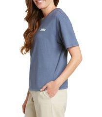 dickies juniors' cotton logo-graphic tomboy t-shirt