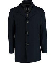 bos bright blue geke coat 20301ge01bo/290 navy