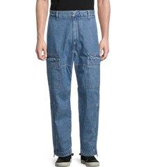 diesel men's relaxed-fit pants - denim - size 28
