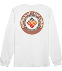 columbia men's fest long sleeve t-shirt