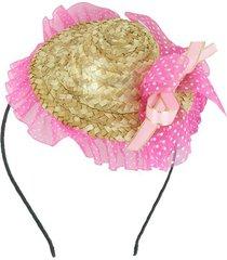 tiara chapéu junino le 12cm unica