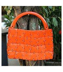 handbag, 'tangerine' (brazil)