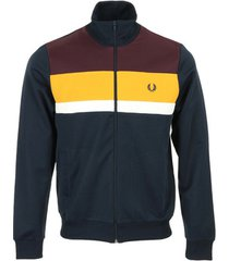 blazer fred perry colour block track jacket