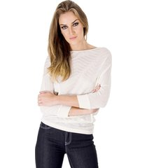 blusa alphorria tricot off white