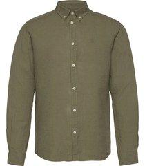 christoph linen shirt overhemd casual groen les deux