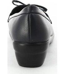 zapatos para mujer marca via spring color negro via spring - negro