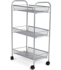 mind reader 3 tier office cart