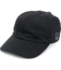 z zegna techmerino™ jersey baseball cap - black