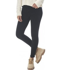 jeans color super high rise skinny mujer negro corona
