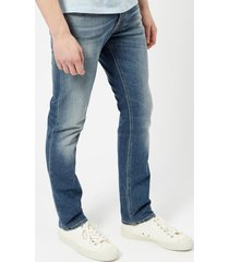 nudie jeans men's grim tim jeans - conjunctions - w36/l34 - blue