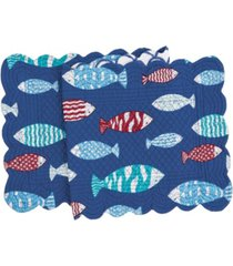 """c f home harpswell quilted runner, 14""""x 51"""""""