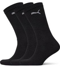 puma crew sock light 3p underwear socks regular socks svart puma