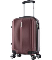 "inusa san francisco 18"" lightweight hardside spinner carry-on luggage"
