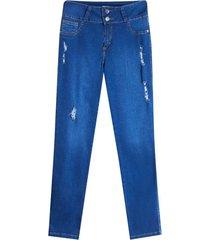 jean con bolsillos color azul, talla 6