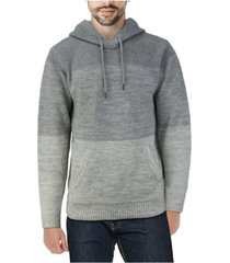 x-ray men's color blocked hooded sweater