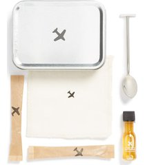 w & p design carry-on cocktail kit, size one size - grey