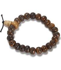 yak & yeti beaded bracelet - natural