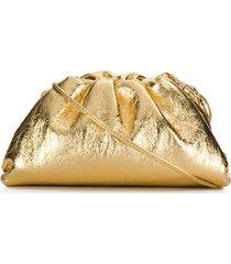 bottega veneta the mini pouch bag - gold