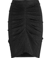 sargas knälång kjol svart iro