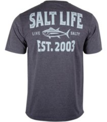 salt life mens tuna depth short sleeve tee