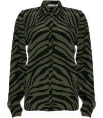 overhemd zebra