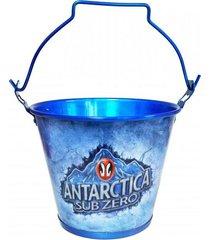 balde de gelo em alumínio antartica sub zero doctor cooler