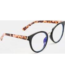joide metal edge blue light sunglasses - black
