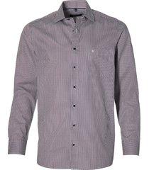 casa moda overhemd - regular fit - paars