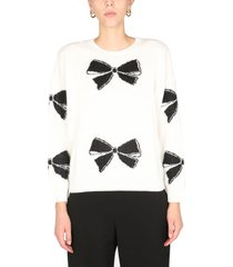 red valentino wool blend sweater