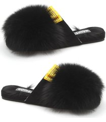las mujeres de pieles preciosas chanclas sandalias confortables apartamentos dama zapatos zapatillas 37