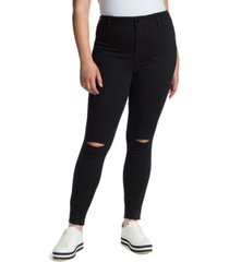 william rast trendy plus size sculpted skinny jeans