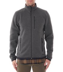 filson ridgeway fleece jacket - charcoal 20052630