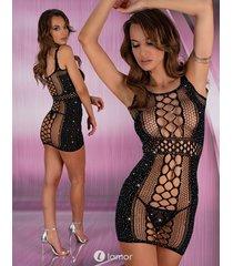 * livco corsetti zwart netjurkje plamb