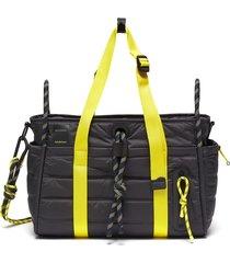 x lululemon colour-block duffle bag