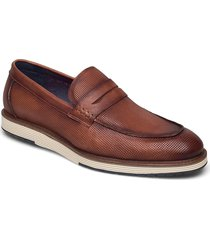 casual loafer loafers låga skor brun tga by ahler