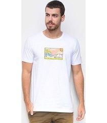 camiseta new era summer times beach masculina - masculino