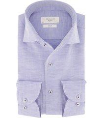 overhemd profuomo lichtblauw structuur slim fit