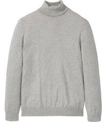 maglione a collo alto con cachemire (grigio) - bpc selection