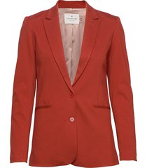 jacket ls blazer kavaj röd rosemunde